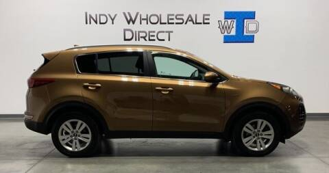 2017 Kia Sportage for sale at Indy Wholesale Direct in Carmel IN