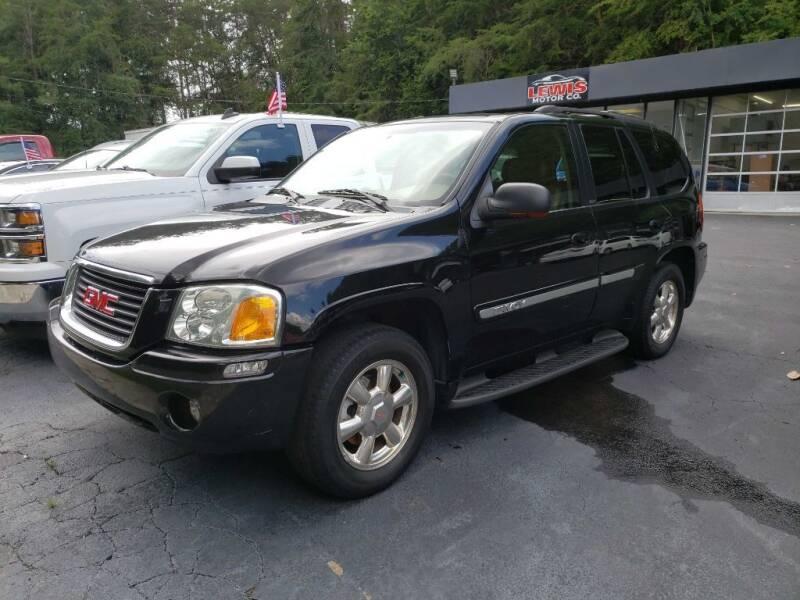 2002 GMC Envoy for sale at Curtis Lewis Motor Co in Rockmart GA