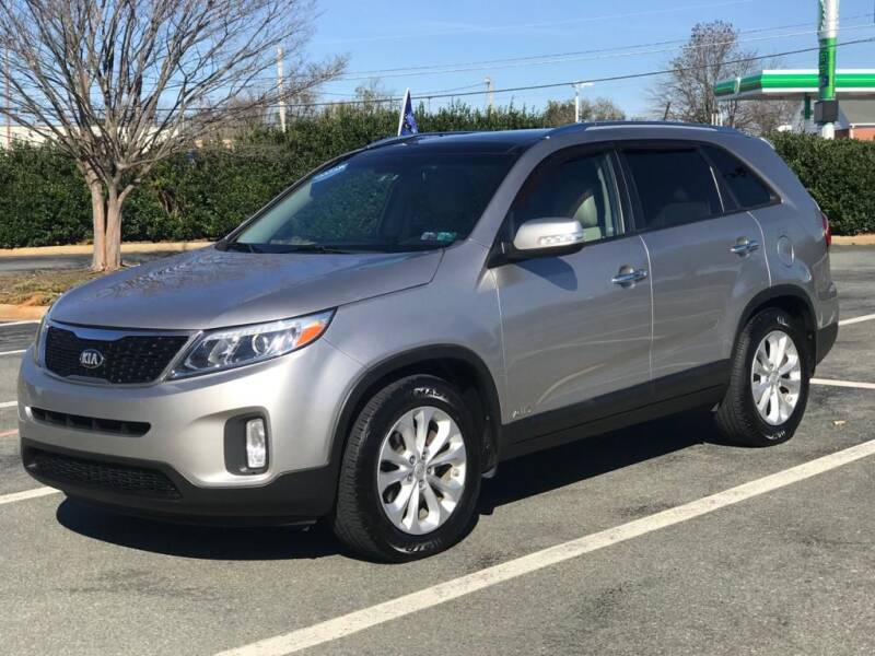 2014 Kia Sorento for sale at RUSH AUTO SALES in Burlington NC