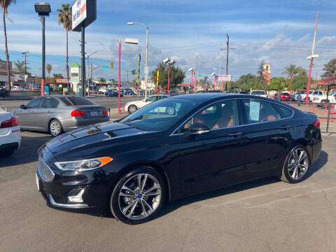 2020 Ford Fusion for sale at Pacific West Imports in Los Angeles CA