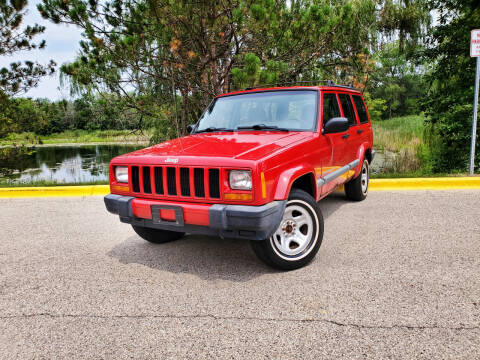 2000 Jeep Cherokee for sale at Excalibur Auto Sales in Palatine IL