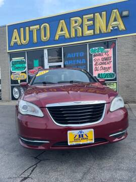 2014 Chrysler 200 for sale at Auto Arena in Fairfield OH