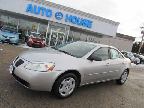 2008 Pontiac G6 for sale at Auto House Motors in Downers Grove IL