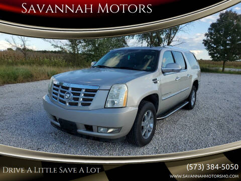 2007 Cadillac Escalade ESV for sale at Savannah Motors in Elsberry MO