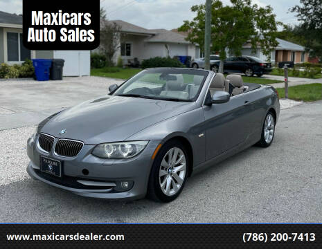 2011 BMW 3 Series for sale at Maxicars Auto Sales in West Park FL