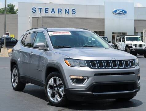 2019 Jeep Compass for sale at Stearns Ford in Burlington NC