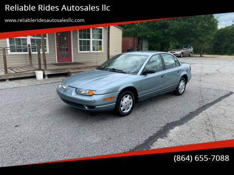 2002 Saturn S-Series for sale at Reliable Rides Autosales llc in Greer SC