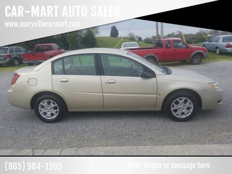 2004 Saturn Ion for sale at CAR-MART AUTO SALES in Maryville TN