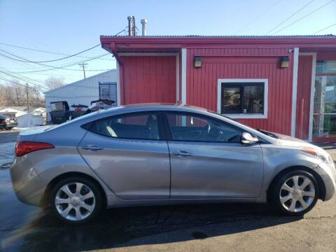 2013 Hyundai Elantra for sale at Rayyan Auto Sales LLC in Lexington KY