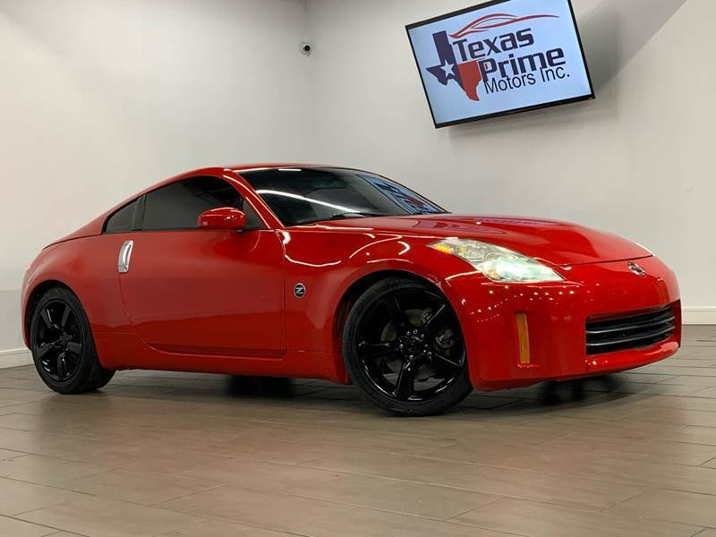 2008 Nissan 350Z for sale at Texas Prime Motors in Houston TX