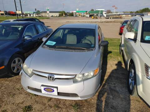 2007 Honda Civic for sale at BERG AUTO MALL & TRUCKING INC in Beresford SD