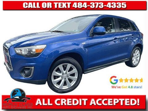 2015 Mitsubishi Outlander Sport for sale at World Class Auto Exchange in Lansdowne PA