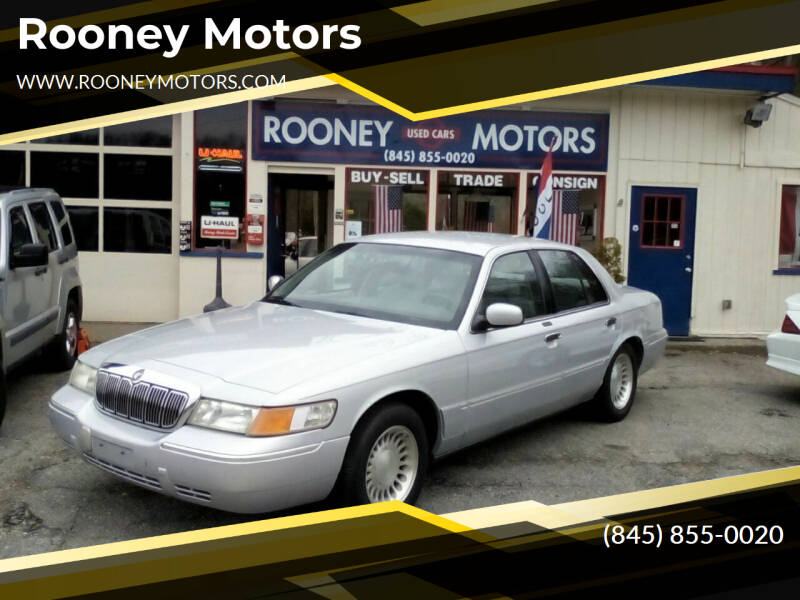 2000 Mercury Grand Marquis for sale at Rooney Motors in Pawling NY