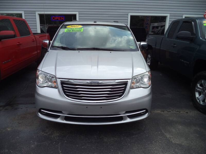 2011 Chrysler Town and Country for sale at H and H Truck Center in Newport News VA