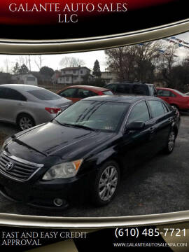 2008 Toyota Avalon for sale at GALANTE AUTO SALES LLC in Aston PA