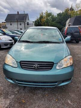 2005 Toyota Corolla for sale at Chupy Auto Sales in Rochester NY