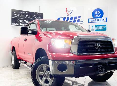 2008 Toyota Tundra for sale at Elegant Auto Sales in Rancho Cordova CA
