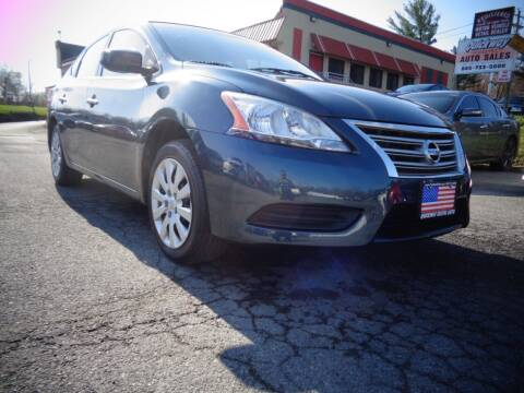 2015 Nissan Sentra for sale at Quickway Exotic Auto in Bloomingburg NY