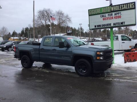 2014 Chevrolet Silverado 1500 for sale at Giguere Auto Wholesalers in Tilton NH