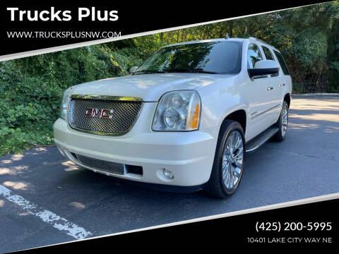 2010 GMC Yukon for sale at Trucks Plus in Seattle WA