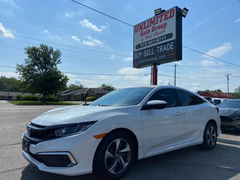 2020 Honda Civic for sale at Unlimited Auto Group in West Chester OH