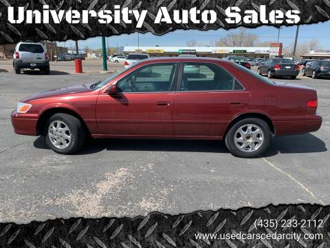 2000 Toyota Camry for sale at University Auto Sales in Cedar City UT