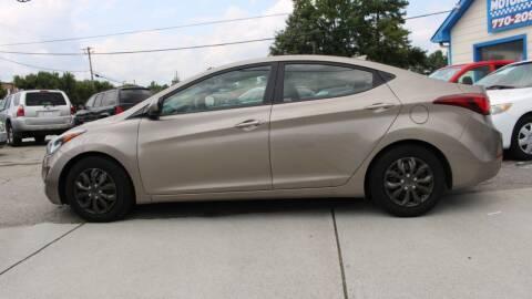 2016 Hyundai Elantra for sale at NORCROSS MOTORSPORTS in Norcross GA