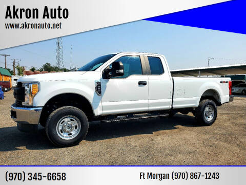 2017 Ford F-250 Super Duty for sale at Akron Auto in Akron CO