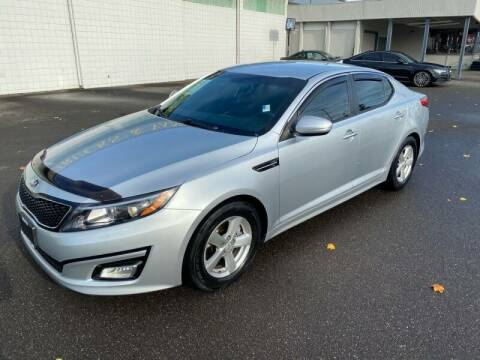 2015 Kia Optima for sale at TacomaAutoLoans.com in Tacoma WA