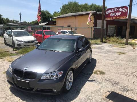 2008 BMW 3 Series for sale at Quality Auto Group in San Antonio TX