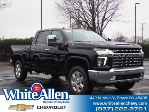2021 Chevrolet Silverado 2500HD for sale at WHITE-ALLEN CHEVROLET in Dayton OH