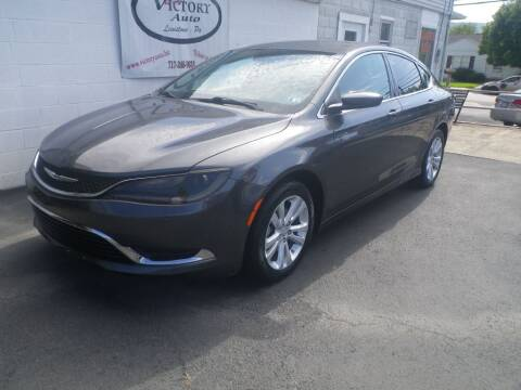 2015 Chrysler 200 for sale at VICTORY AUTO in Lewistown PA
