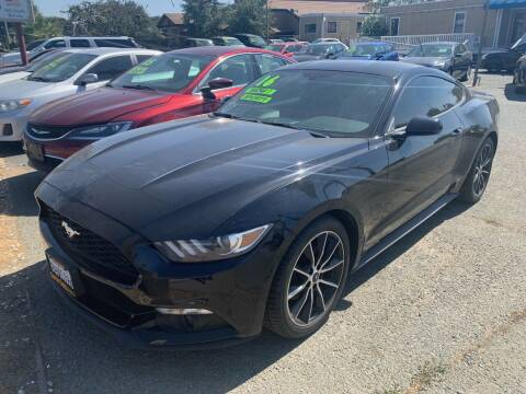 2016 Ford Mustang for sale at Contra Costa Auto Sales in Oakley CA