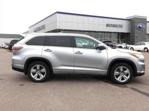 2016 Toyota Highlander for sale at Schulte Subaru in Sioux Falls SD