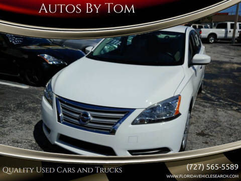2015 Nissan Sentra for sale at Autos by Tom in Largo FL