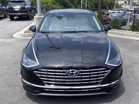 2021 Hyundai Sonata Hybrid for sale at CU Carfinders in Norcross GA
