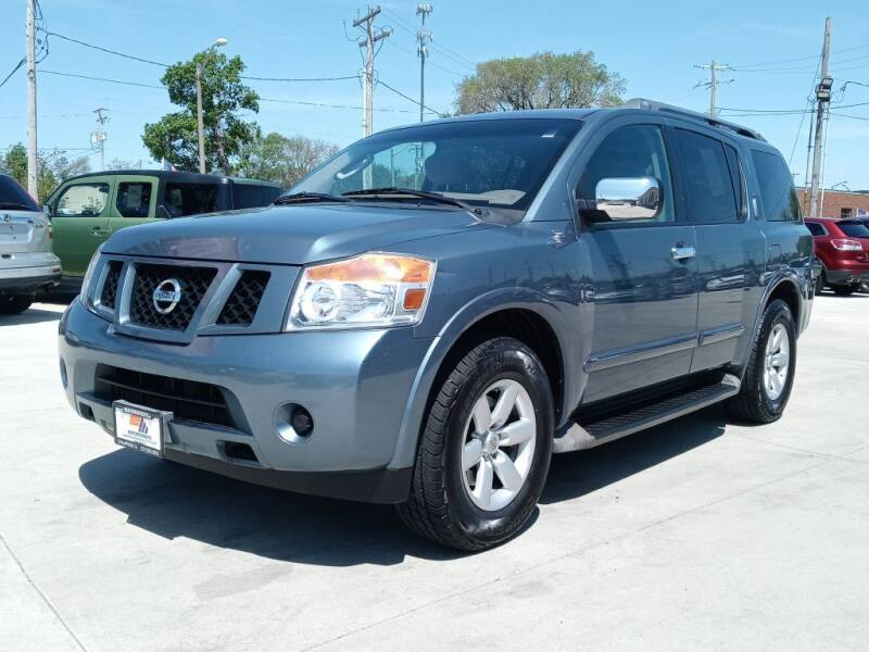 2012 Nissan Armada for sale at EURO MOTORS AUTO DEALER INC in Champaign IL