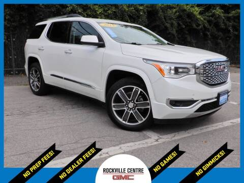 2019 GMC Acadia for sale at Rockville Centre GMC in Rockville Centre NY