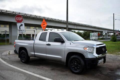 2015 Toyota Tundra for sale at ELITE MOTOR CARS OF MIAMI in Miami FL