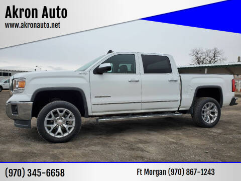 2015 GMC Sierra 1500 for sale at Akron Auto in Akron CO