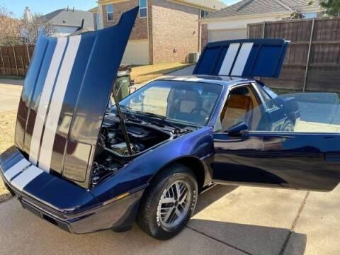 1984 Pontiac Fiero for sale at Classic Car Deals in Cadillac MI