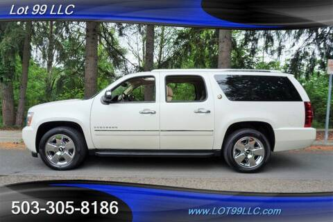 2010 Chevrolet Suburban for sale at LOT 99 LLC in Milwaukie OR