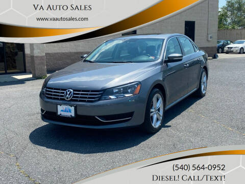 2014 Volkswagen Passat for sale at Va Auto Sales in Harrisonburg VA