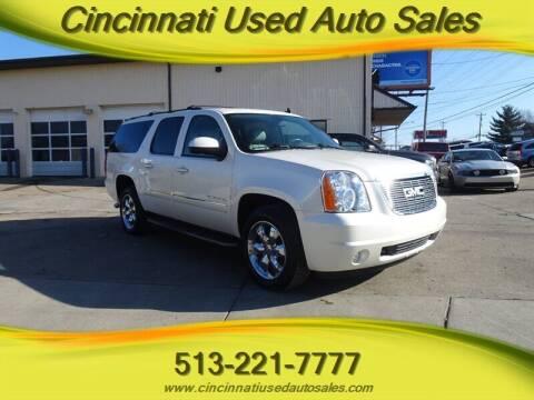2012 GMC Yukon XL for sale at Cincinnati Used Auto Sales in Cincinnati OH
