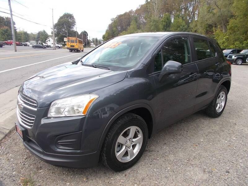 2016 Chevrolet Trax for sale at Dansville Radiator in Dansville NY