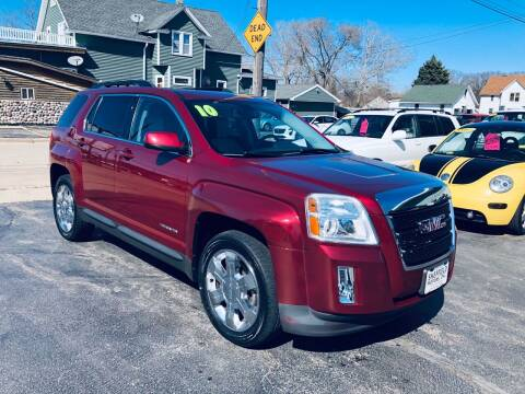 2010 GMC Terrain for sale at SHEFFIELD MOTORS INC in Kenosha WI