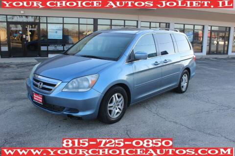 2006 Honda Odyssey for sale at Your Choice Autos - Joliet in Joliet IL