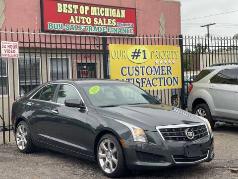 2014 Cadillac ATS for sale at Best of Michigan Auto Sales in Detroit MI