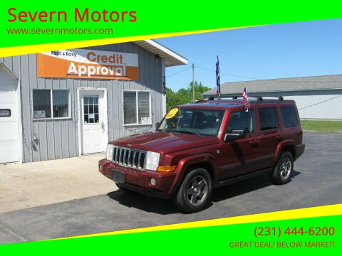 2007 Jeep Commander for sale at Severn Motors in Cadillac MI
