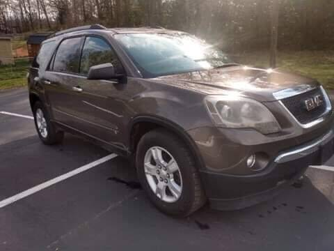 2010 GMC Acadia for sale at Happy Days Auto Sales in Piedmont SC